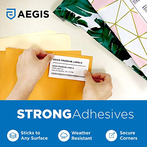 """Aegis - Compatible 30256 (2-5/16"""" X 4"""") Direct Thermal Labels Replacement for DYMO 30256 Shipping - for Rollo, Labelwriter 450 Turbo, 4XL, Zebra Desktop Printers (8 Rolls) Photo #4"""