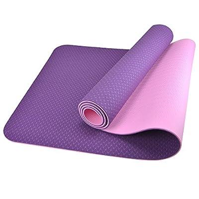 BESTEK Double-sided Non-slip Yoga Exercise Mat
