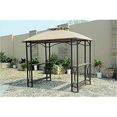 Sunjoy Replacement Canopy Set for Grill Gazebo