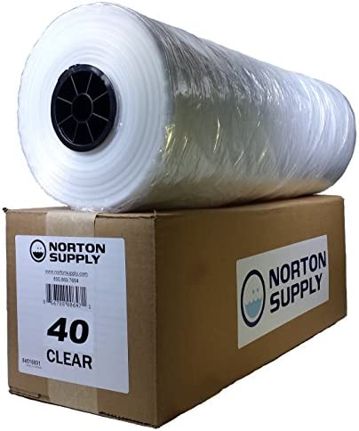 Norton Supply Dry Cleaning Poly Bags 40 100 Gauge product image