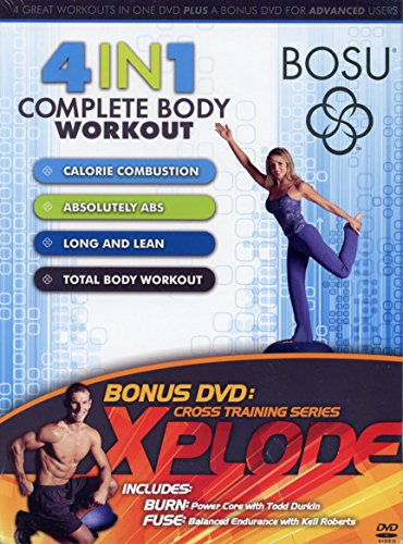 BOSU 4 IN 1 Complete Body Workout