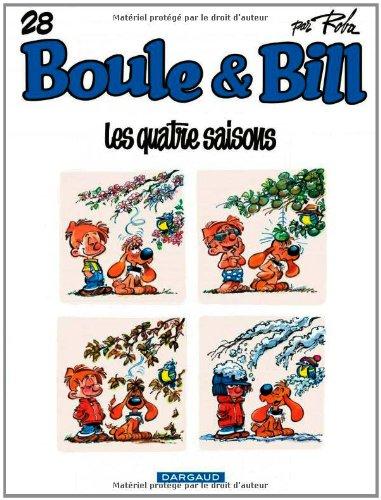 Boule et Bill, Tome 28 : Les quatre saisons