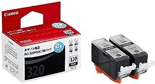 Canon 純正 インクカートリッジ BCI-320 ブラック 2個パック BCI-320PGBK2P 小