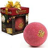 Badebombe Geschenk Weihnachten Badekugel - Große Badebombe Weihnachten Christmas Geschenk