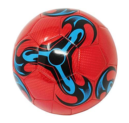 Pallone da Calcio da Allenamento O Partita Misura 5 (Colore: Rosso)