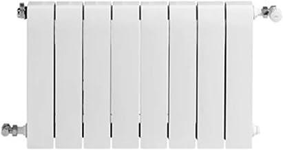 Baxi Radiador de aluminio de alta emisión térmica Batería, 8 elementos, serie Dubal 70, 8,2 x 64 x 67,1 centímetros (Referencia: 194A30801), blanco