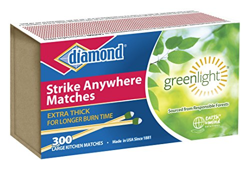 Diamond Strike Anywhere'Greenlight' Matches 300