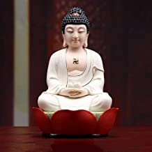 PPCP Sakyamuni Buddha Pharmacist Buddha Meditation Peace and Harmony Statue Religious Decoration Southeast Asian Style Cra...