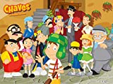 Chaves em desenho animado
