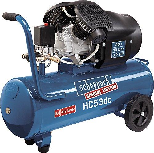 Hc53Dc compresseur 50L max. pression de fonctionnement 10 bar