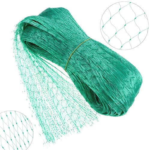 EHIOG Bird Netting Garden Net Doesn#039t Tangle and Reusable Fencing Protect Fruit Vegetables from Birds Deer