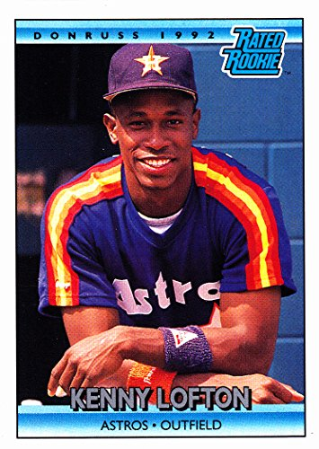 1992 DONRUSS KENNY LOFTON RC ROOKIE CARD