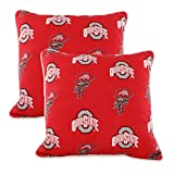 College Covers Sports Fan Throw Pillows