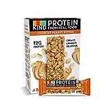 KIND Protein Bars, Crunchy Peanut Butter, Gluten Free, 12g Protein,1.76oz, 24 count