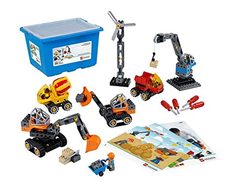LEGO Tech Machines DUPLO Set 45002, Fun STEM Engineering Toy & Steam Learning for Girls & Boys Ages 3 & Up.