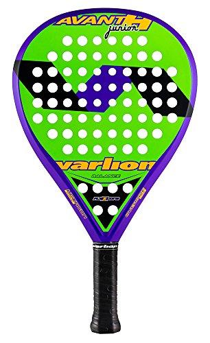 Varlion Avant H Junior - Pala de pádel, Unisex Niños, Verde/Morado, 290-295 gr.