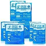 com-four® Compresas múltiples en 3 tamaños Diferentes, compresas de Gel para Aplicaciones frías y Calientes, Almohadillas de refrigeración, microondas adecuadas (2X pequeñas, 2X Medianas, 2xgrandes)