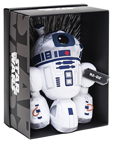Joy Toy 1601762–R2-D2Black Line Peluche 25cm de Distintos Materiales (Piel, plástico) con Muchos Detalles y Exclusivo Star Wars del Paquete