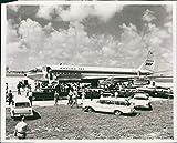 Vintage Photos Boeing 707 Airplane Pan American World Airways Miami Fl Flight 8X10