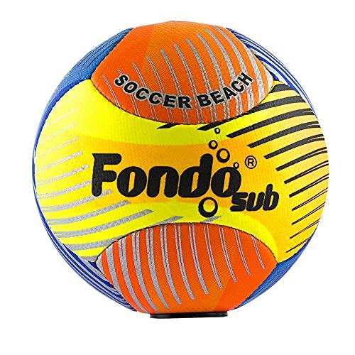 Balón Pelota Fútbol Playa Color Neón 22 cm