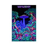 SHUOJIA Trippy Ufo Poster Leinwand Prints Poster Wandkunst
