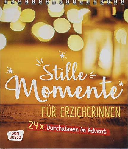 Stille Momente für Erzieher*innen. 24 x Durchatmen im Advent. Adventskalender mit Postkarten zum Ausschneiden.
