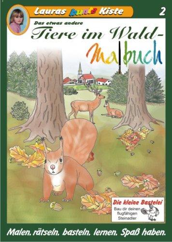 Lauras bunte Kiste: Tiere im Wald-Malbuch, Das etwas andere