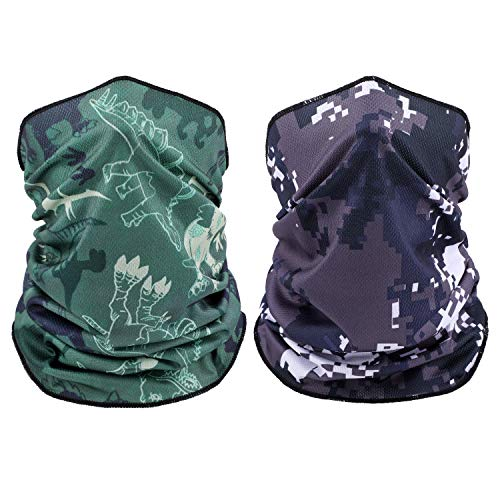 TAGVO Rave Bandana Neck Gaiter Tube Headwear Bufanda, elástico Headwrap Unisex Starry Sky Style, mascarilla Diadema pasamontañas para Mujeres y Hombres