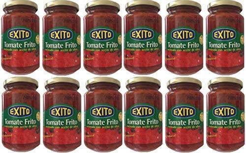 Tomate frito con aceite de oliva Exito tarro de cristal [PACK 12 UNIDADES]