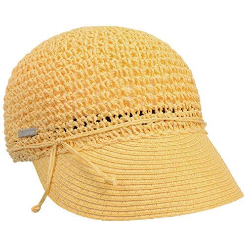 Seeberger Gorra Uni Rollable Crochet de Verano Mujer (Talla...