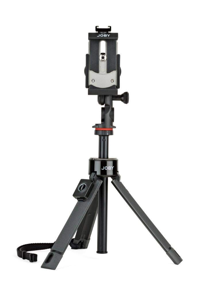 Jobyミニ三脚selfieスティックデスクトップトップ三脚ハンドグリップナイフPROアイアンスマートフォンアダプターBluetooth手洗いGoproアダプターJB01534-BWW