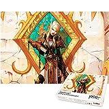 Rompecabezas de elfos de sangre para niños 1000 piezas rompecabezas de World of Warcraft rompecabezas grande decoración única para el hogar regalo de cumpleaños (52x38cm)