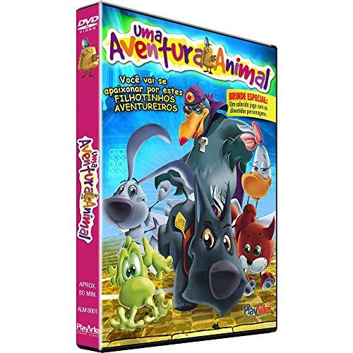 UMA AVENTURA ANIMAL - DVD