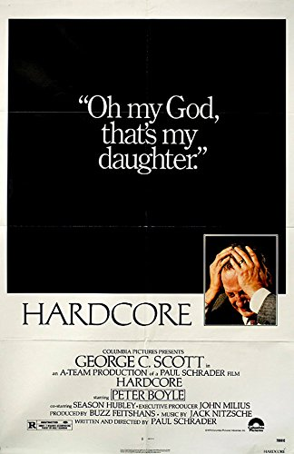 Hardcore 1979 U.S. One Sheet Poster