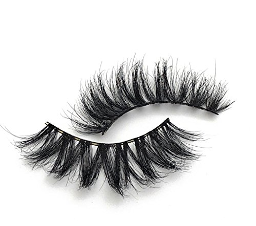 Dollbaby London 'Santorini' Faux Mink Extra Wispy Multi Layered Criss Cross Lashes Fluffy Reusable False Eyelashes