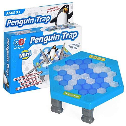 Cloverclover Mini-Pinguin-Falle, Eltern-Kind-Brettspiel, Interaktives Unterhaltungstischspielzeug, Für Kinder Desktop-Spiel Für Erwachsene