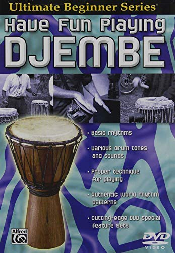 Ultimate Beginner Series: Have Fun Playing Djembe (DVD) by Brad Dutz
