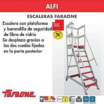 ESCALERA PROFESIONAL 2TFVC FARAONE. LCS (2TFVC.350 12+12Peldaños): Amazon.es: Bricolaje y herramientas