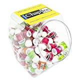 Chap-Ice | Assorted Mini Lip Balm with Fishbowl – Includes Cherry, Citrus-Orange and Kiwi-Lime - 120 count