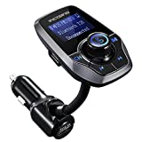 VICTSING Transmetteur FM Bluetooth Adaptateur Bluetooth Autoradio Kit Voiture...