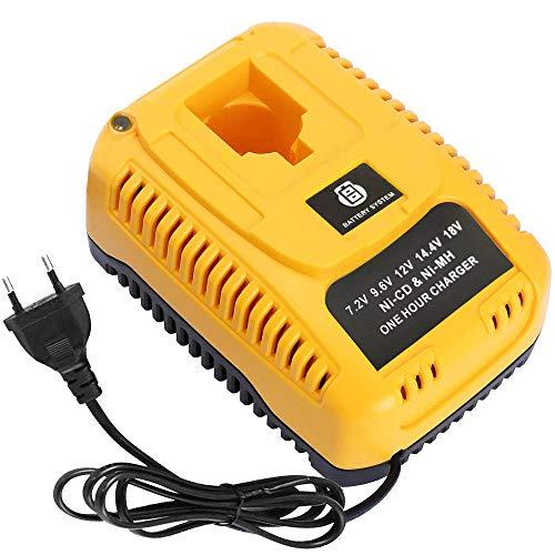 DOSCTT 2.6A DC9310 Ersatz Ladegerät für Dewalt 7,2V-18V Ni-Cd & Ni-Mh Akku DC9096 DC9098 DC9099 DC9091 DC9071 DE9057 DW9096 DW9094 DW9072 Batterie