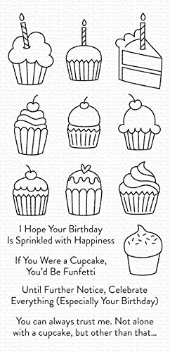 My Favorite Things CUPCAK MFT Clear Stamps