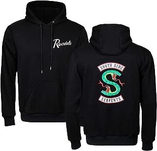 Unisex Adult Men Women Southside Serpents Hoodie Sweatshirt Long Sleeve Jughead Jones Pullover Hooded Outerwear