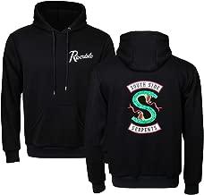 NielijuanST Unisex Adult Men Women Southside Serpents Hoodie Sweatshirt Long Sleeve Jughead Jones Pullover Hooded Outerwear