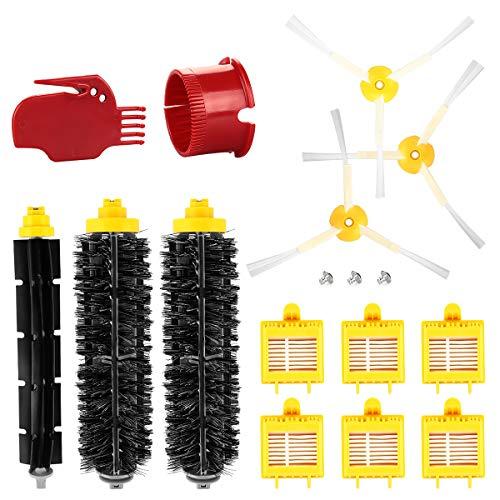 Energup Kit de Rechange Accessoires pour Roomba 700 760 770 780 790 782 filtre Roomba