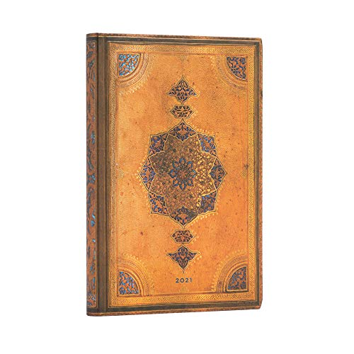 Paperblanks 12 Monate Softcover Flexis-Kalender 2021 Safawidisch | Horizontal | Midi (125 × 175 mm) FD6774-0