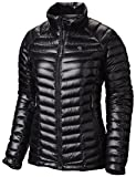 Mountain Hardwear Womens Ghost Whisperer Insulated Down Water Repellant Jacket, Non-Hood -Black - XL