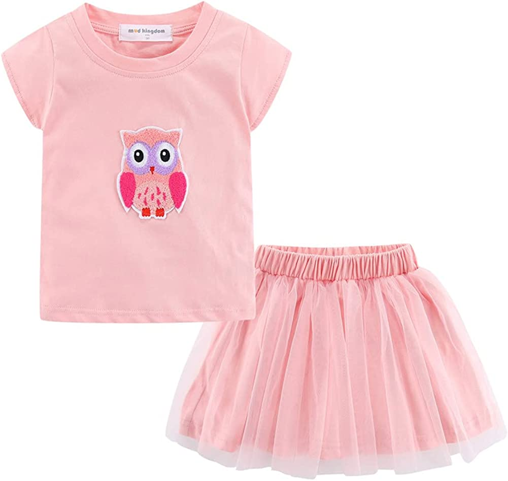Mud Fort Worth Mall Kingdom Little Girls Skirt Free shipping on posting reviews Set Cartoon Summer Tulle Hol Cute