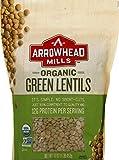 Arrowhead Mills Organic Green Lentils, 16 Ounce Bag