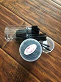 F.S Disposable Eyelash Mascara Brushes Mascara Wands Applicator Makeup Kits (black 200pcs in case)